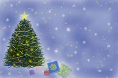 Christmas illustration royalty free illustration