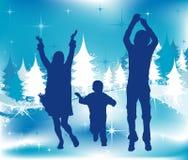 Christmas illustration Stock Photo