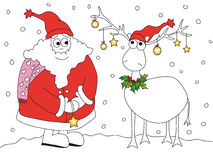 Christmas illustration Stock Image