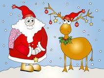 christmas illustration Στοκ Φωτογραφίες