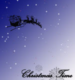 Christmas illustration. Abstract christmas winter illustration stock illustration