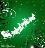 Christmas illustration. Abstract christmas winter illustration royalty free illustration