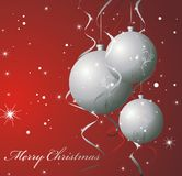 Christmas Illustration Background. Winter elements Stock Images