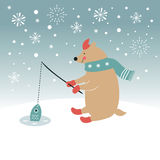 Christmas illustration, Christmas card Royalty Free Stock Images