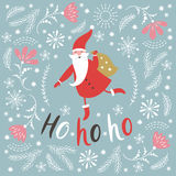 Christmas illustration, Christmas card Royalty Free Stock Photos
