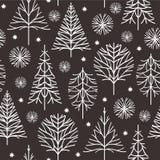 Christmas illustration, Christmas card Stock Images