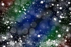 Christmas illustration. Happy New Year - colorful xmas background Stock Photo