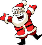 Christmas Illustration Of Happy Santa Claus Royalty Free Stock Image