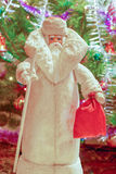 Christmas illustration of Santa Claus Royalty Free Stock Photo