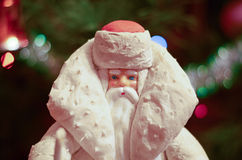 Christmas illustration of Santa Claus Stock Image