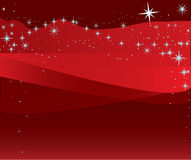 Christmas Illustration: Starry. An Illustration for the Christmas with sparkling stars Stock Photos
