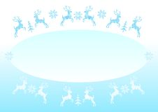 Christmas illustration - cdr format Royalty Free Stock Photography