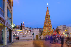 Free Christmas In Mary S Well Square, Nazareth Stock Image - 63948351