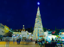 Free Christmas In Mary S Well Square, Nazareth Stock Photos - 63948743