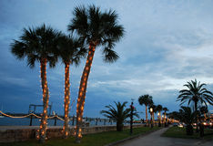 Christmas In St. Augustine Royalty Free Stock Photos