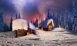 Christmas In The Carpathians Royalty Free Stock Images