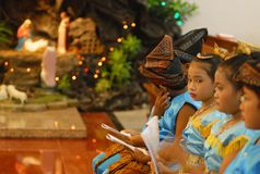 CHRISTMAS IN INDONESIA. Stock Images