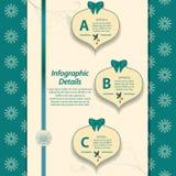 Christmas infographic Stock Photos