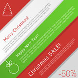 Christmas infographic Stock Images