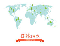 Christmas infographic. Royalty Free Stock Photography