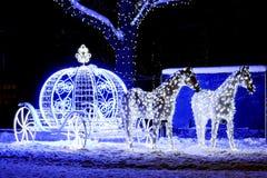 CHRISTMAS, INSTALLATION Royalty Free Stock Photos
