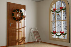 Christmas Interior Stock Images