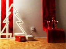Christmas interior Royalty Free Stock Photos