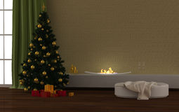 Christmas interior Royalty Free Stock Photography