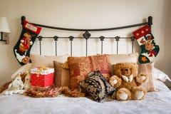 Christmas interior stock image