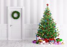Christmas interior 3d render Stock Image