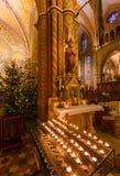 Christmas interior of Matthias Church in Budapest Hungary Stock Photos