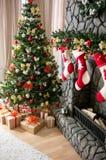 Christmas interior Royalty Free Stock Photography