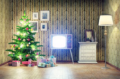Christmas interior Stock Image