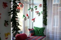 Christmas interior. Christmas tree Christmas tree, Christmas interior decoration royalty free stock photo