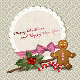 Christmas invitation Royalty Free Stock Images