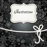 Christmas invitation card Royalty Free Stock Photos