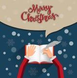 Christmas invitation Stock Photo