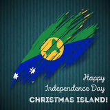 Christmas Island Independence Day Patriotic. Stock Images