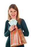 Christmas isn`t about the money Stock Photo