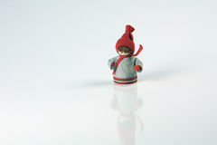Christmas, isolated figure. Christmas Festive Season figure on a white isolated background Royalty Free Stock Photos