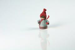 Christmas, isolated figure  Royalty Free Stock Photos