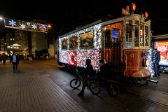 Christmas in Istanbul Royalty Free Stock Image