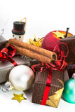 Christmas items Royalty Free Stock Photo