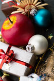 Christmas items Royalty Free Stock Image