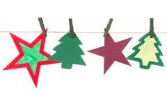 Christmas items Royalty Free Stock Image
