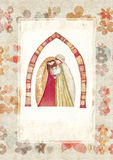 Christmas: Jesus Christ , Joseph, Mary Stock Image