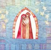 Christmas: Jesus Christ , Joseph, Mary Royalty Free Stock Image