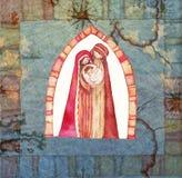 Christmas: Jesus Christ , Joseph, Mary Royalty Free Stock Photo