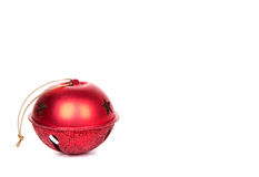 Christmas Jingle bell on white Stock Images