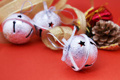 Christmas jingle bells Royalty Free Stock Images